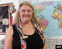 蒙哥马利社区学院国际学生负责人海蒂