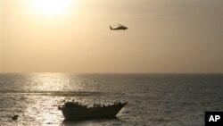 نجات گروگانان ایرانی توسط نیروهای بحری ایالات متحده