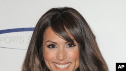 "FILE - Model Leeann Tweeden attends the ""Sports Spectacular"" n Los Angeles, Calif ."