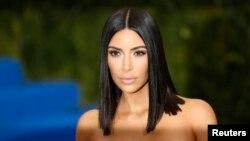 FILE - Kim Kardashian West