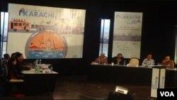 کراچی بین الاقوامی کانفرنس میں پینل گفتگو