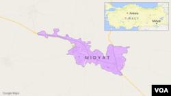 Midyat, Turki.