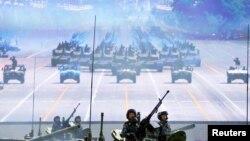 지난해 9월 중국 베이징 톈안먼 광장에서 열린 전승절 기념 열병식. (자료사진)
