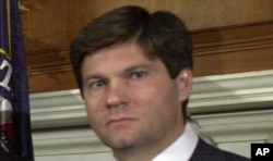 FILE - Bobby Burchfield, pictured in March 2002, was appointed as a Washington-based ethics adviser responsible for vetting and approving new deals for the Trump Organization on Jan. 25, 2017.