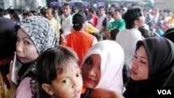 Pasca-pemerintah Malaysia menerapkan 'lockdown' terkait pandemi virus corona sejak 18 Maret 2020 hingga 14 April 2020, ratusan TKI memilih kembali ke Tanah Air. (Foto: ilustrasi).