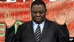 Morgan Tsvangirai, Harare, le 6 avril 2011