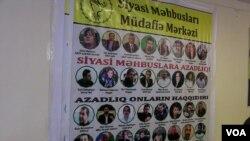Siyasi məhbuslar-foto 07.02.2019-cu ildə lentə alınıb