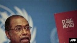Ông Michel Sidibe cho biết bệnh AIDS đã bắt đầu giảm sút và số người bị nhiễn virút HIV và chết vì AIDS đã bớt đi