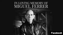 La famosa serie publico un mensaje en honor a Ferrer en Facebook.