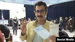 صدرا محقق، روزنامهنگار روزنامه شرق پس از شرکت در انتخابات مجلس و خبرگان