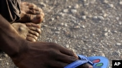 La polio continue de faire des handicappés en Afrique, d'où l'urgence de vacciner les enfants contre la maladie