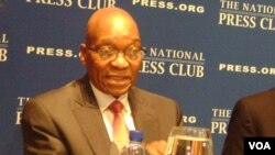 President of South Africa Jacob Zuma's government says all unregistered foreigners will be deported. (File Photo)