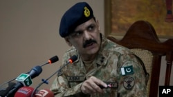 Tướng Asim Bajwa - Người phát ngôn của quân đội Pakistan.