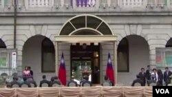 """Trong bài phát biểu nhậm chức nhiệm kỳ hai hôm 20/5, Tổng thống Đài Loan Thái Anh Văn tuyên bố không chấp nhận nguyên tắc """"một quốc gia, hai chế độ"""" của Trung Quốc."""