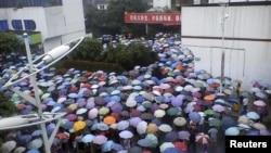Những cuộc biểu tình tại địa phương ngày càng gia tăng tại Trung Quốc, nơi các giới chức thành phố phải ra sức cân bằng giữa việc phát triển đô thị với sự phẫn nộ của người dân
