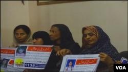 کراچی: گمشدہ بچوں کے والدین ارباب اختیار سے بچوں کی بازیابی کی اپیل کررہے ہیں