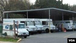 美国邮政局送信车队