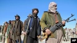Afghan Taliban militants (File)