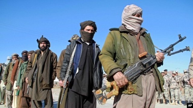 Afghan Taliban militants (File)