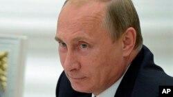 Russian President Vladimir Putin, Sept. 17, 2014.