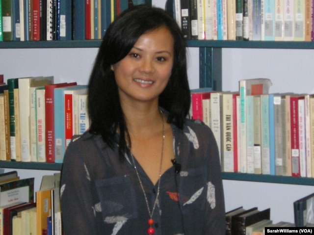 Thuy Vo Dang, Director of the Vietnamese American Oral History Project at the University of California, Irvine.