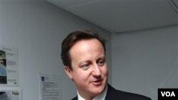 Perdana Menteri Inggris David Cameron.
