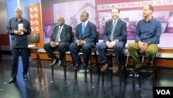 Круглый стол с экспертами по заболеванию , организованный программой «Голоса Америки» Straight Talk Africa. 19 ноября 2014.