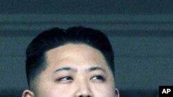 北韓政權繼承人金正恩