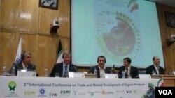 عکس آرشیوی از همایش جهانی محصولات ارگانیک در تهران