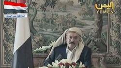 تصویری از علی عبدالله صالح در عربستان سعودی. ۱۶ اوت ۲۰۱۱