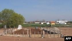 Lokacija u selu Plemetina gde se gradi džamija