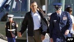 Обама перед відльотом до штату Алабама