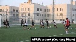 جریان تمرین اعضای تیم ملی فوتبال افغانستان