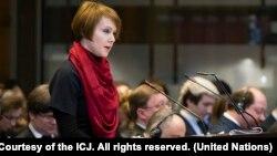 Заступниця міністра закордонних справ України Олена Зеркаль, яка очолює українську сторону в Міжнародному суді, сподівається, що Росію змусять дотримуватися міжнародного права