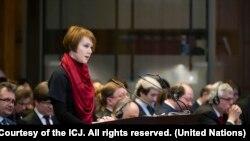 Від України в суді виступала заступниця міністра закордонних справ Олена Зеркаль