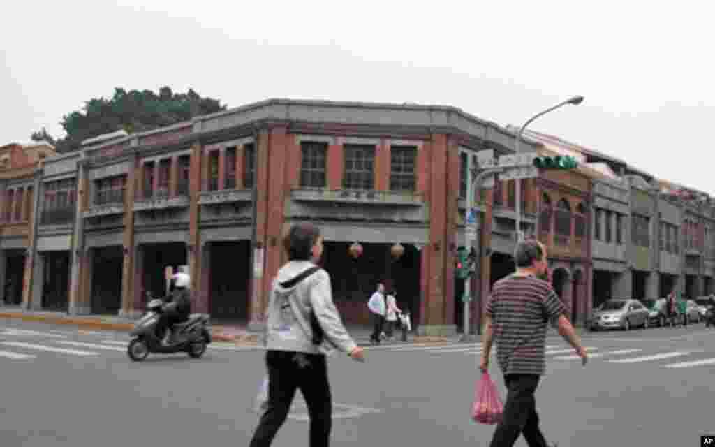 台北市万华区的剥皮寮