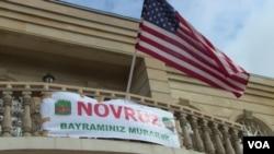 ABŞ səfirinin iqamətgahında Novruz şənliyi