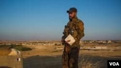Представитель курдских отрядов самообороны на северо-востоке Сирии