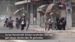 Menbiç IŞİD Militanlarından Geri Alındı