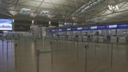 VOA英语视频: 由于对冠状病毒的担忧 机场成为鬼城