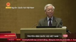 Ông Nguyễn Phú Trọng lo ngại 'tự diễn biến' trong đảng