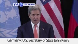 VOA60 World - Syria: Cessation of Hostilities to Begin in a Week