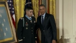 Recipient Dedicates Medal of Honor to Fallen Comrades