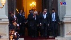Çavuşoğlu Paris'te Le Drian'le Suriye'yi Görüştü