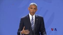 奥巴马呼吁川普对外不能倒退
