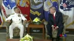 川普先訪太平洋司令部 為亞太之旅發出信號