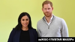"Meghan Markle ""Duchess of Sussex"" (kiri) dan Pangeran Harry ""Duke of Sussex"" (foto: dok)."