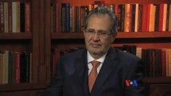 Miguel Henrique Otero habla con la Voz de América