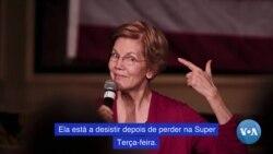 Elizabeth Warren deixa corrida à nomeação democrata