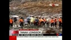 2014-12-14 美國之音視頻新聞: 印尼總統促加速搜尋泥石流失蹤者